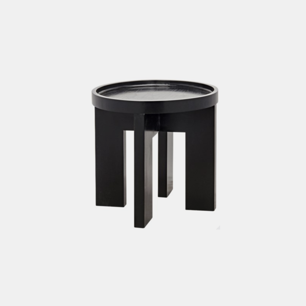 "Gavin Side Table  25"" round x 24.5"" h"