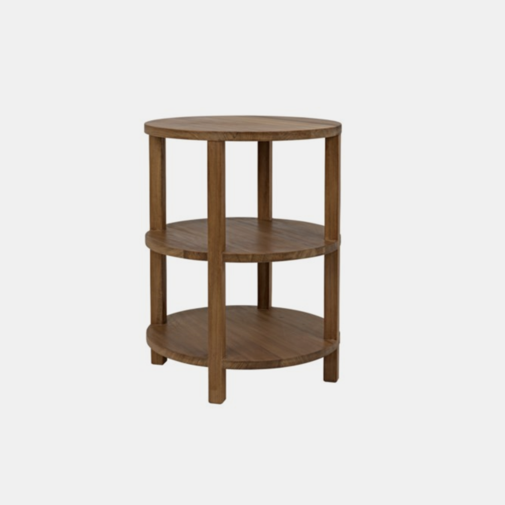"Tier Side Table  20"" round x 26""h"