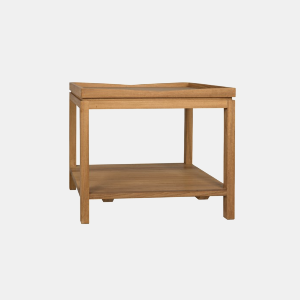 "Saga Side Table  26""l x 20""d x 22""h"