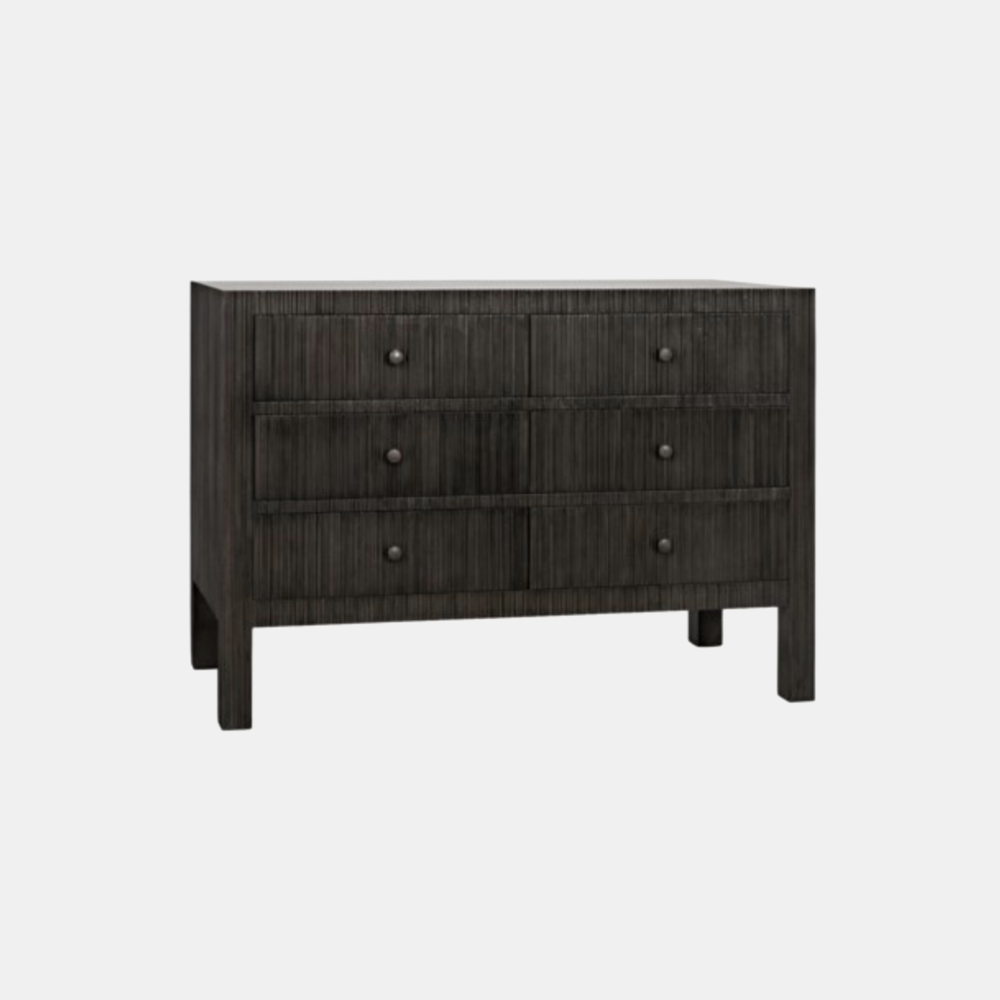 "Conrad Dresser  47.5""l x 22""d x 33""h Also available in 9-drawer 75.5""l x 22""d x 33""h and console."