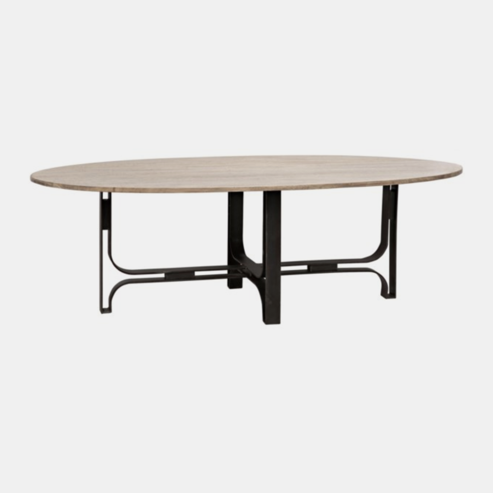 "Adrien Dining Table  96""l x 50""w x 30""h"