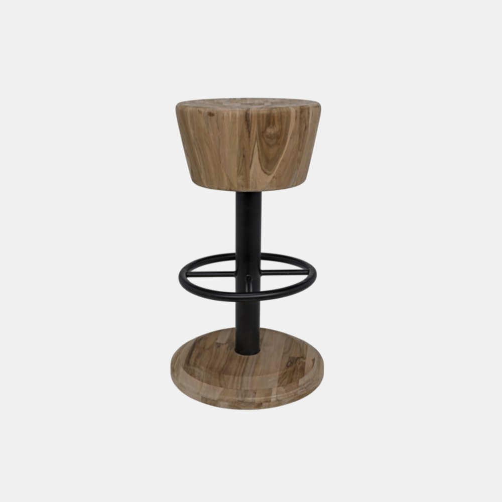 """Thetis Counter Stool  14"""" round x 24.5""""h Also available as bar stool."""