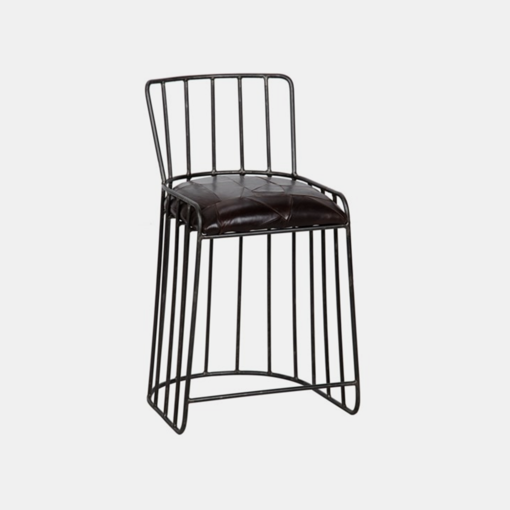 """David Counter Stool  22.5""""w x 20""""d x 33.5""""h Also available as bar stool."""