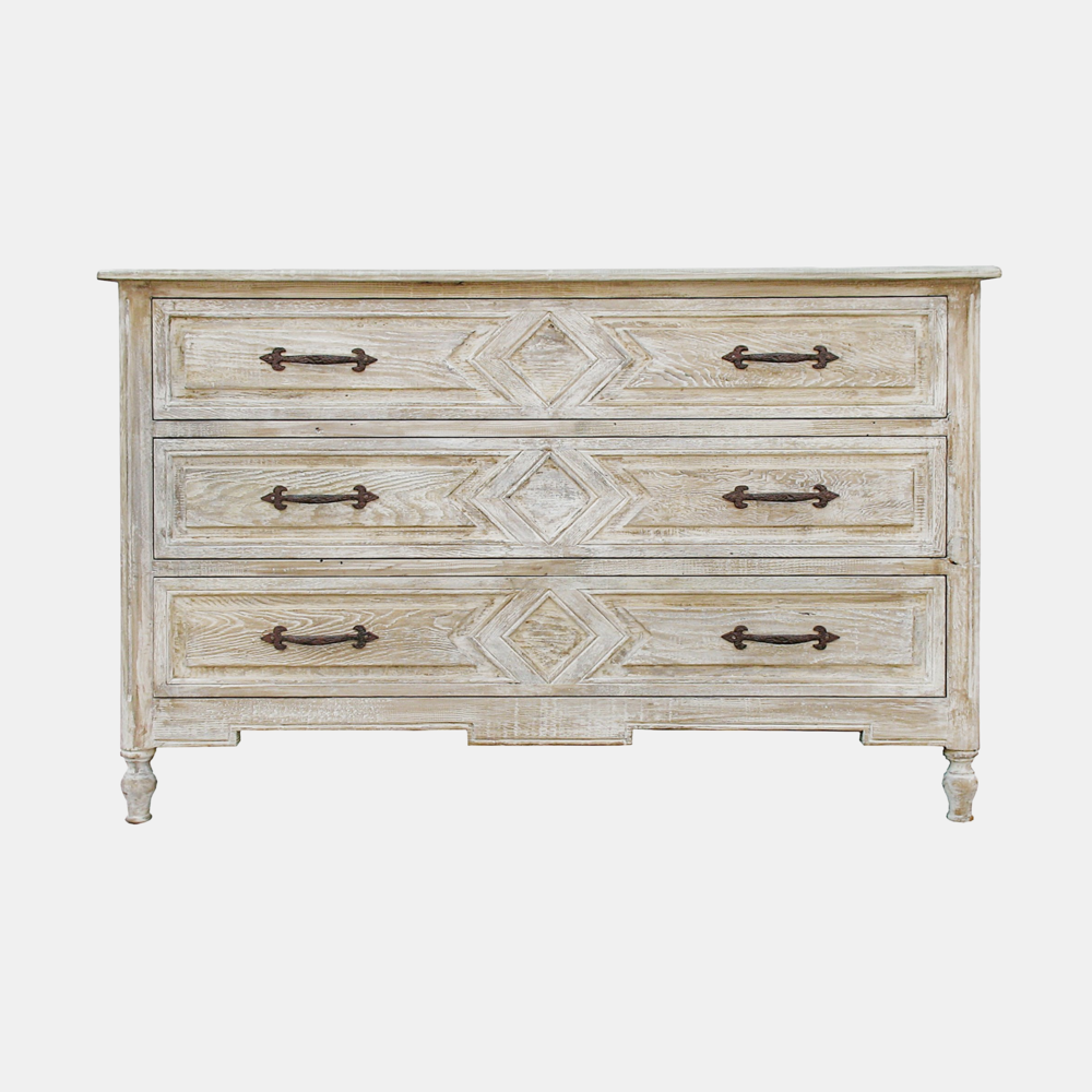 "Anderson Dresser  54""l x 23""d x 34""h Also available in 6-drawer dresser 80""l x 22""d x 36.5""h and 3-drawer nightstand 30""l x 20""d x 30""h."
