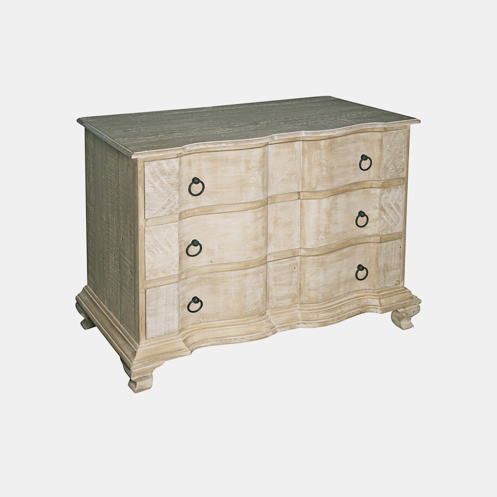 "Lexington Dresser  43.5""l x 22""d x 32""h Also available in 6-drawer dresser 80""l x 22""d x 36.5""h."