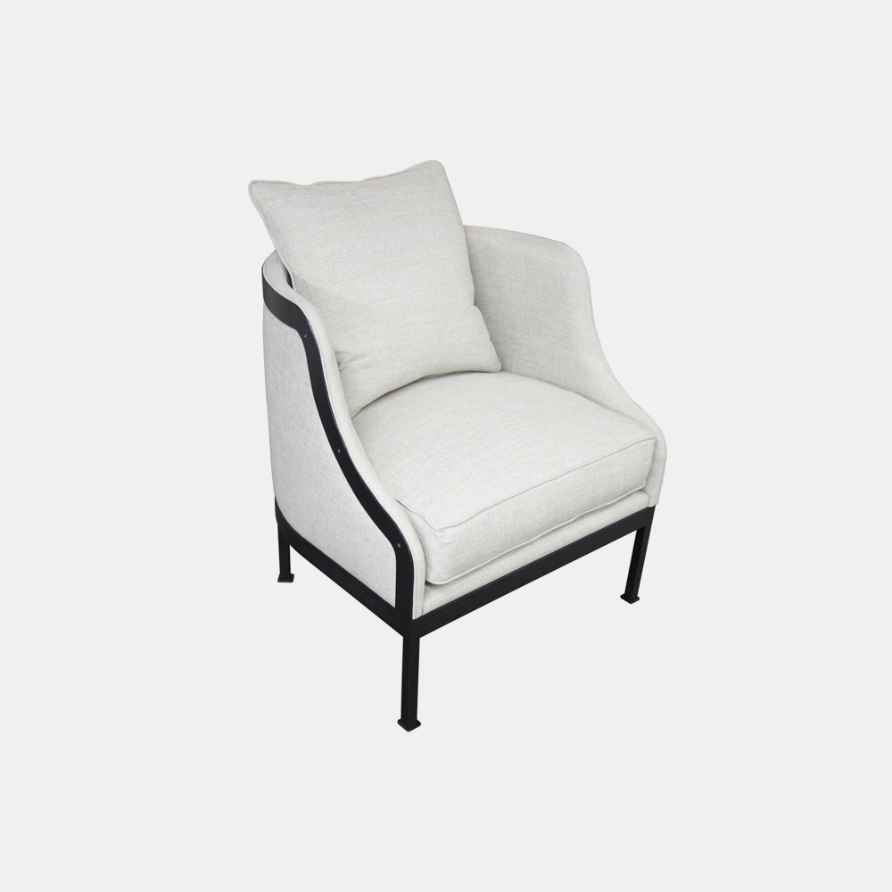"""L otus Chair  30.5""""w x 30""""d x 32.5""""h  Also available as sofa."""