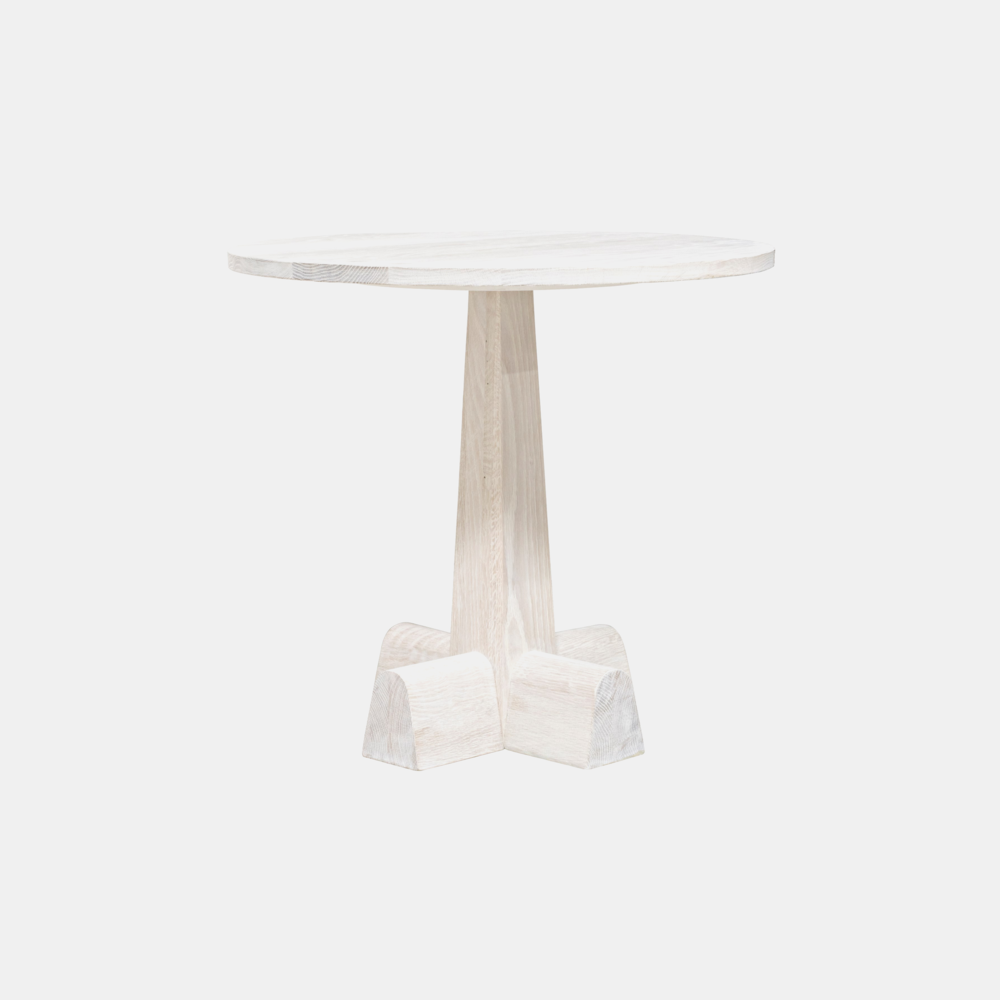 "Camellia Side Table  28"" round x 26""h  Also available as dining table."
