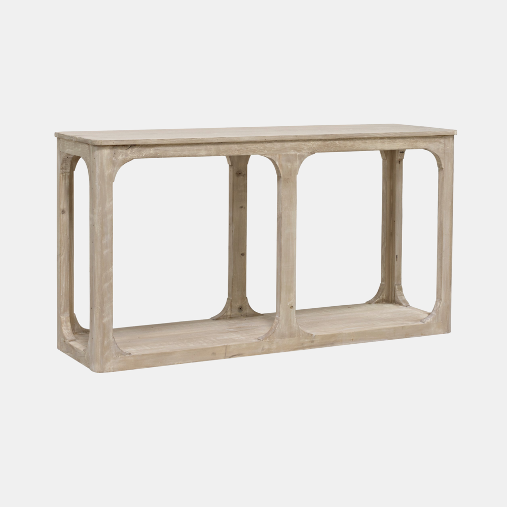 """Gimso Console  60""""l x 18""""d x 32""""h  Also available as round coffee tables, rectangular coffee tables, side table, and bookcase."""