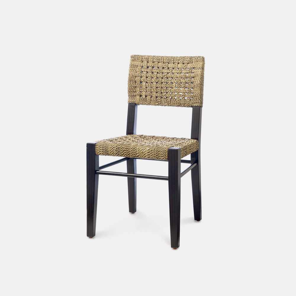 "Panamawood Side Chair  18.25""w x 22.75""d x 34""h"