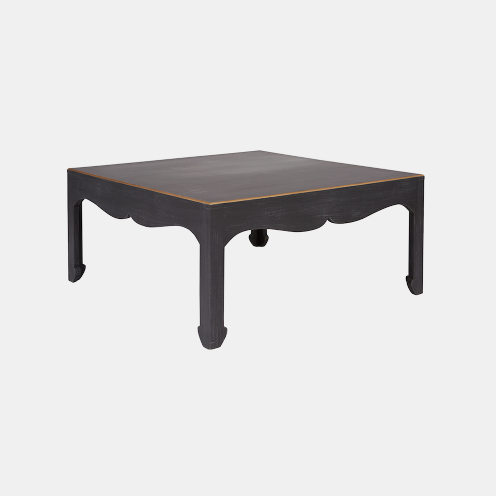 "Warren Cocktail Table  40"" square x 18"" h"