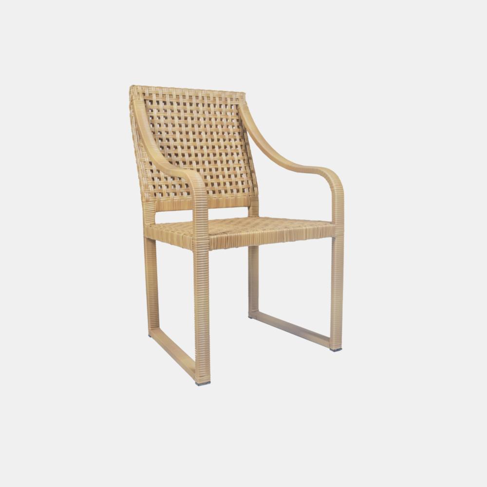"Barcelona Chair  23""w x 24""d x 38""h"