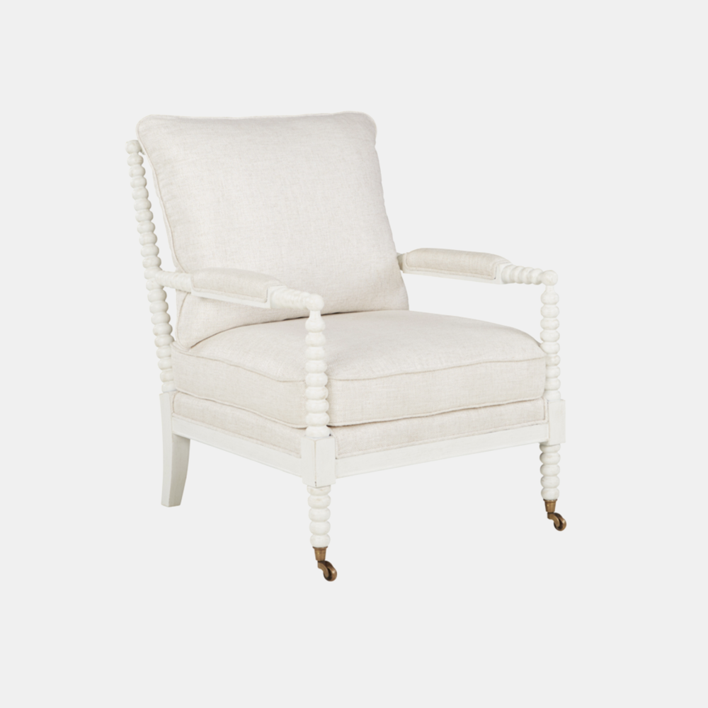 """Porter Chair  29.5""""w x 20""""d x 19""""h Matching ottoman available."""