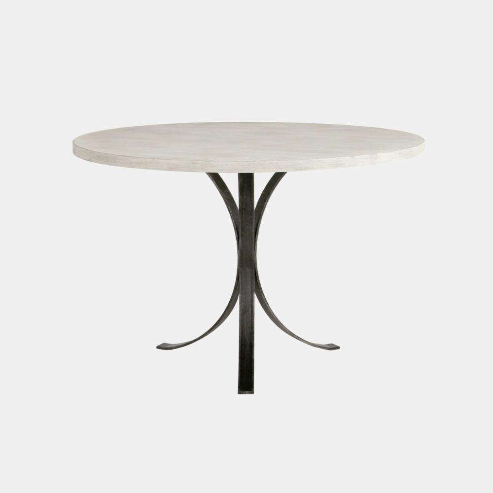 """Quincy Dining Table  36"""", 40"""", 42"""" or 44"""" round x 30""""h Available in several top and base finishes. Also available as side table, desk, and square and oval dining tables."""