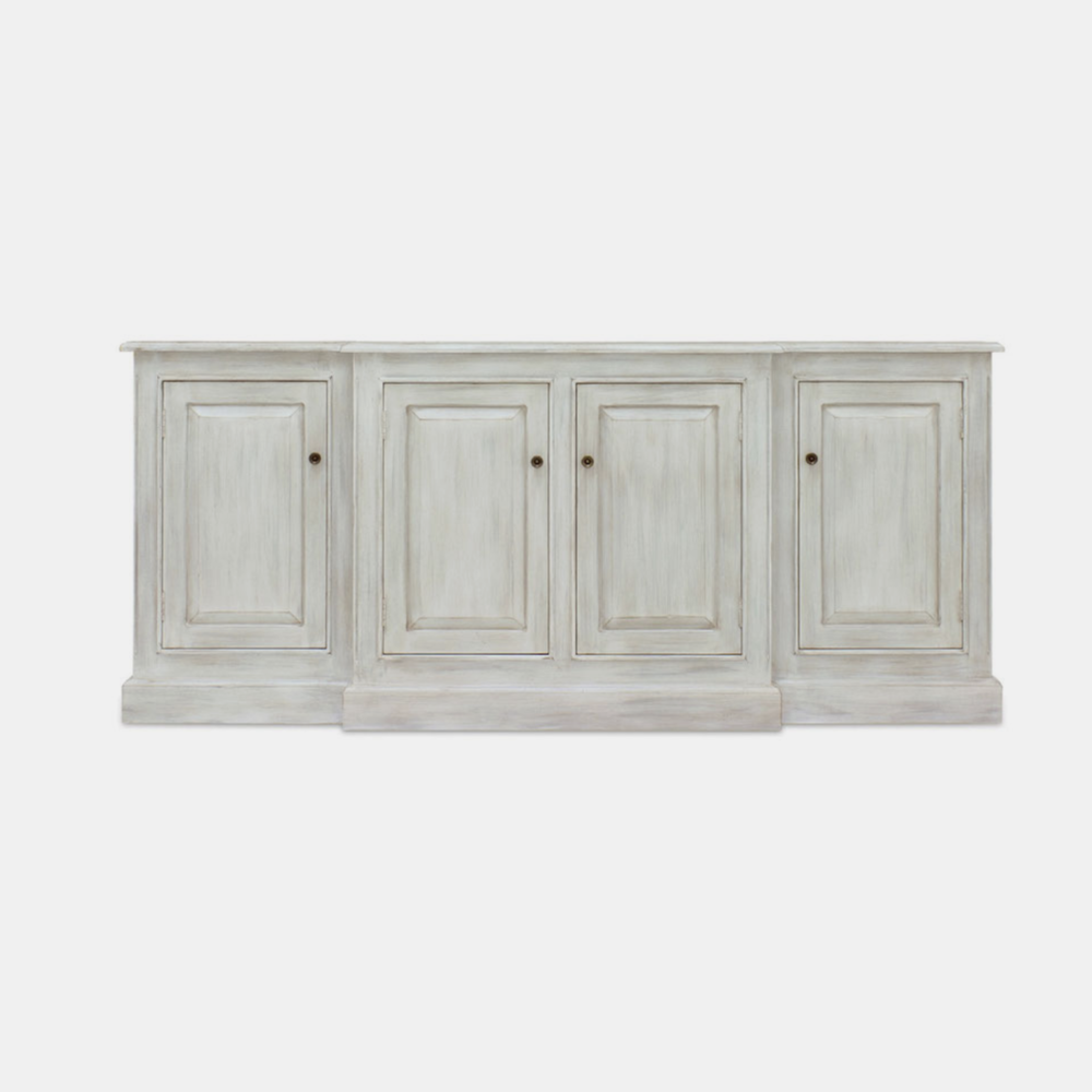 """Livingston Credenza  81""""l x 19""""d x 35""""h Available in several finishes. Also available with hutch 82""""l x 19""""d x 85""""h."""