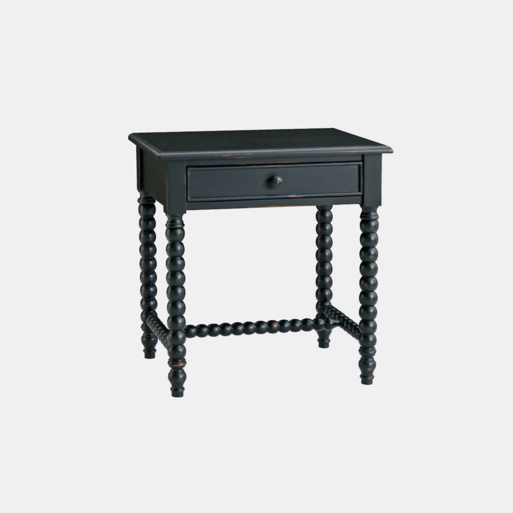 "Clark Side Table  28""l x 20""d x 29""h Available in several finishes. Also available as nightstand, console, dresser, highboy, and coffee table."