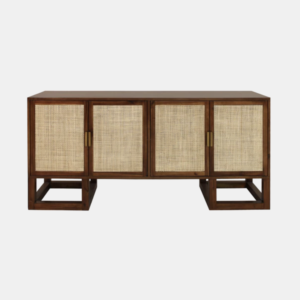 """Patrick Cabinet  68""""l x 20""""d x 32""""h Available in acacia wood (shown) and pine."""