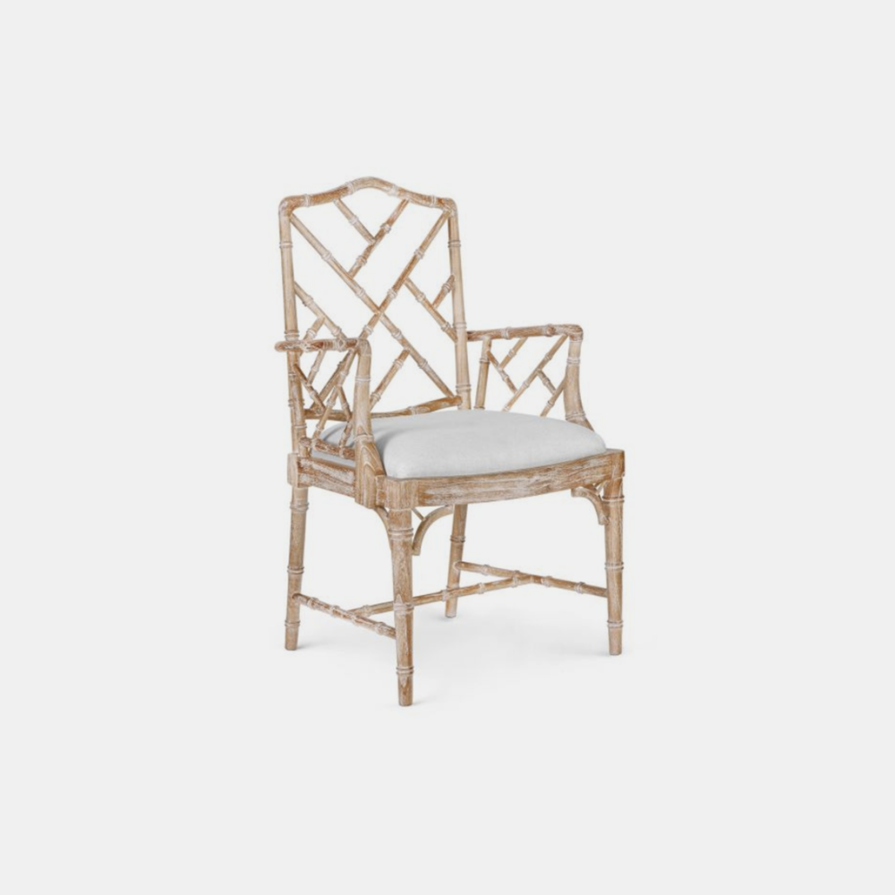 """Quay Armchair  23.5""""w x 21.5""""d x 40""""h Also available as side chair."""