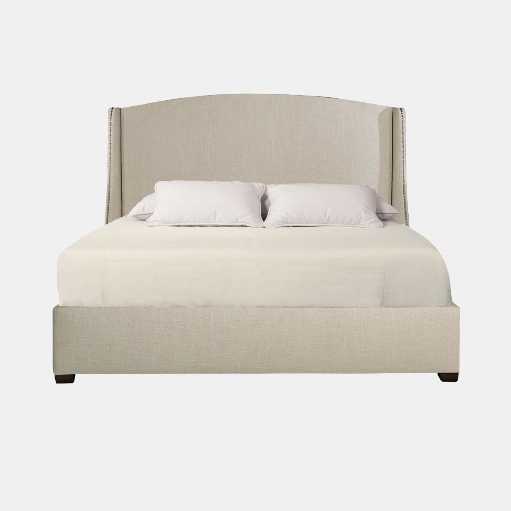 "Cooper Bed  72""w x 87-3/8""l x 64""h (queen) Available in twin, full, queen, california king, and eastern king. Also available as headboard."