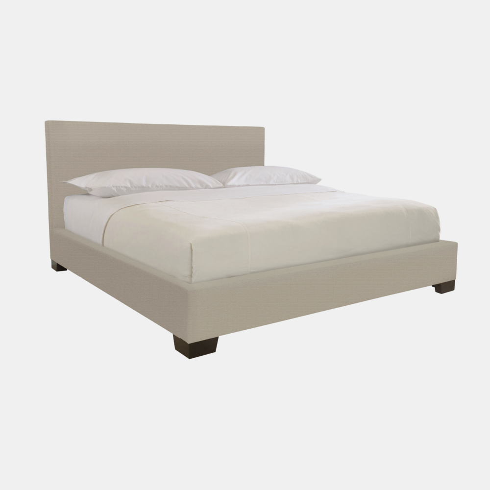 "Pryce Bed  66-1/2""w x 88-1/2""l x 46""h (queen) Available in queen, california king, and eastern king. Also available as headboard."