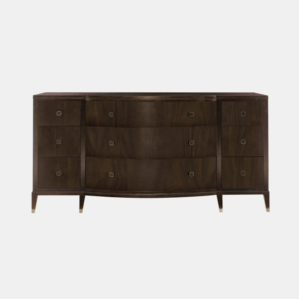 "Haven Dresser  72-1/4""l x 23-1/8""d x 37""h Also available as 3-drawer nightstand."