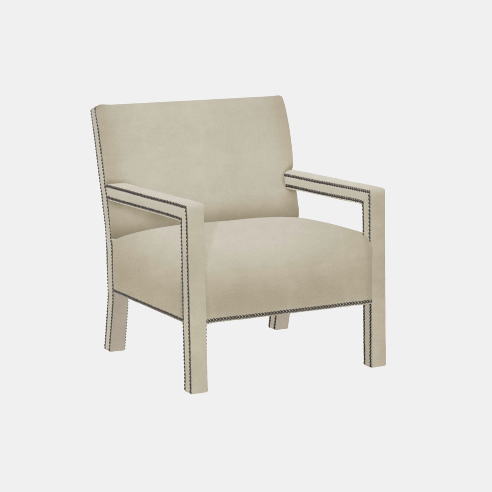"""Shelby Chair  29""""w x 32""""d x 34""""h Available in leathers, fabrics, or COM."""