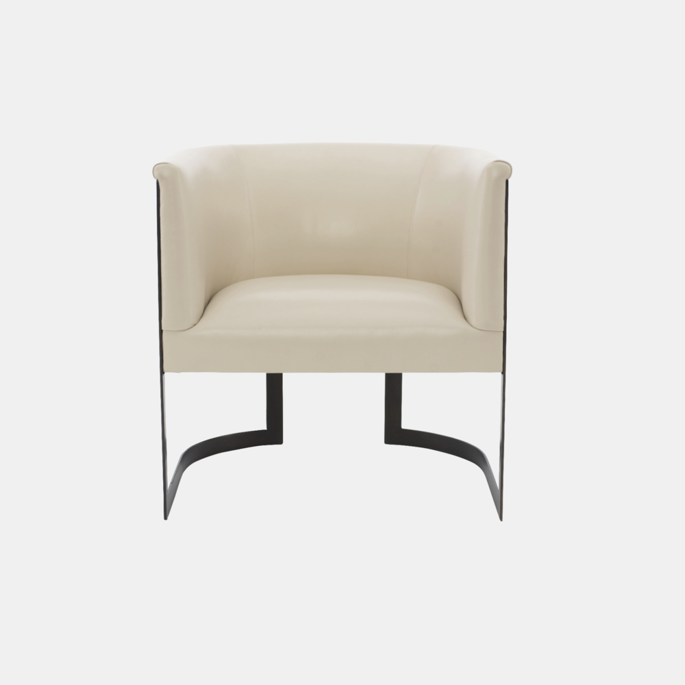 """Zola Chair  29""""w x 29.5""""d x 30.5""""h Available in leathers, fabrics, or COM."""