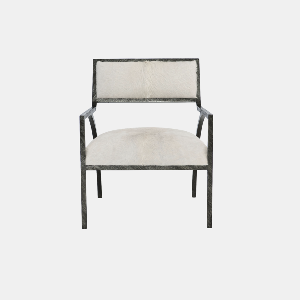 """Cohen Chair  28.5""""w x 35""""d x 32.5""""h Available in fabrics, leathers, or COM."""