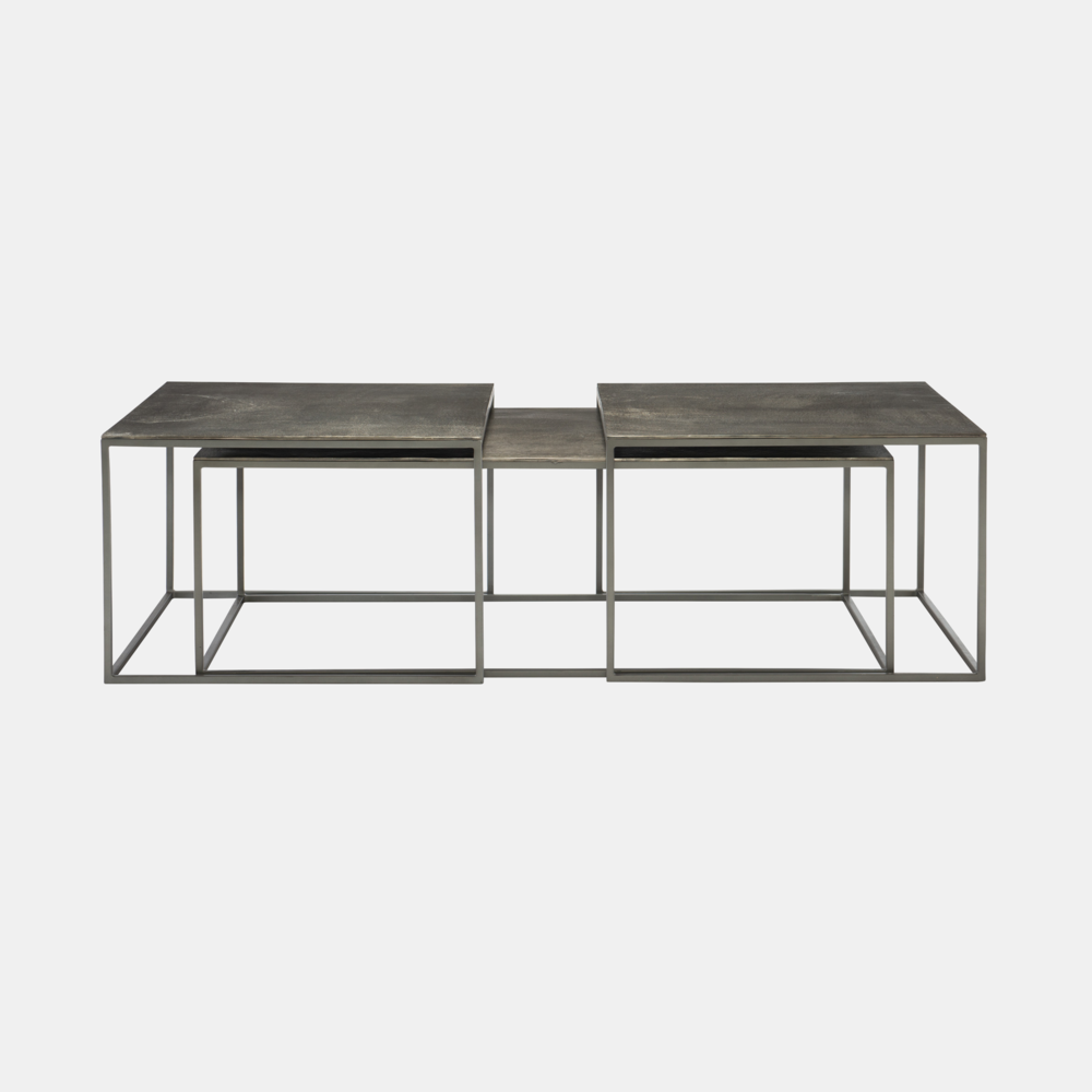 "Eaton Nesting Cocktail Table  56""l x 28""w x 19.25""h Also available as 2 nesting side tables."