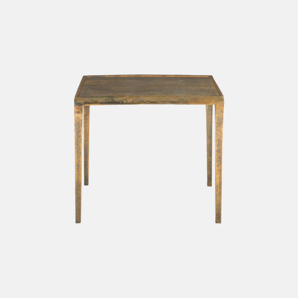 "Benson End Table  22-1/8""l x 26""d x 23-1/2""h Also available as 26"" square x 23.5""h."