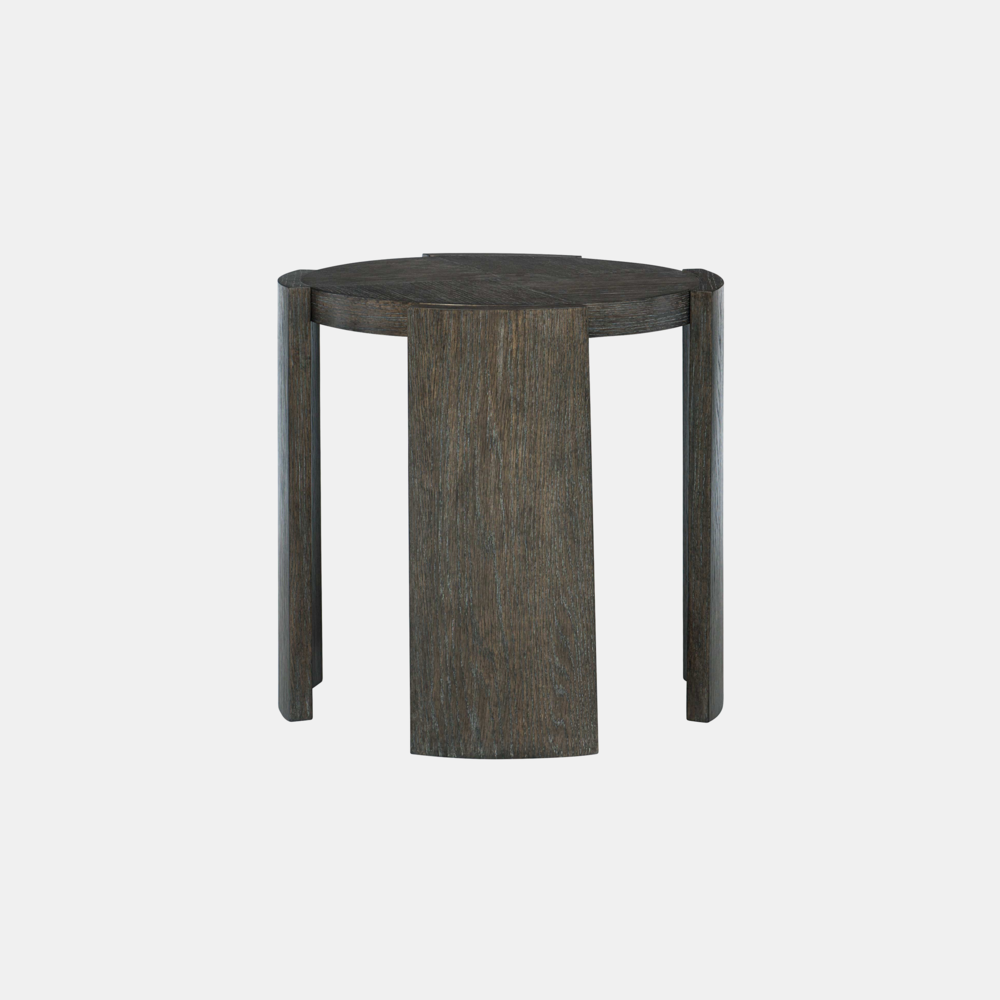 "Linea Side Table  24"" round x 24"" h"