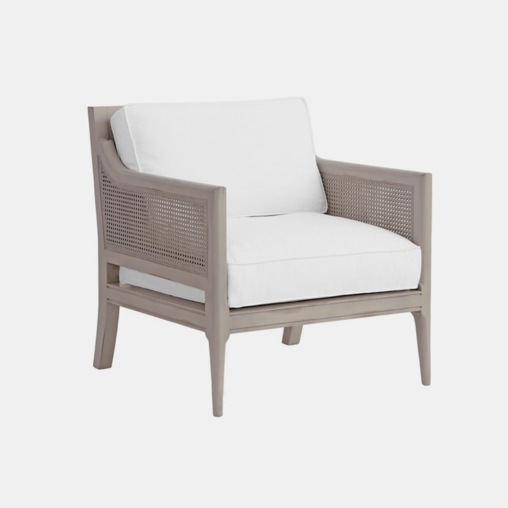 """Frederick Chair  30""""w x 29""""d x 32""""h Available in several wood finishes as well as leather, fabric, muslin, or COM."""