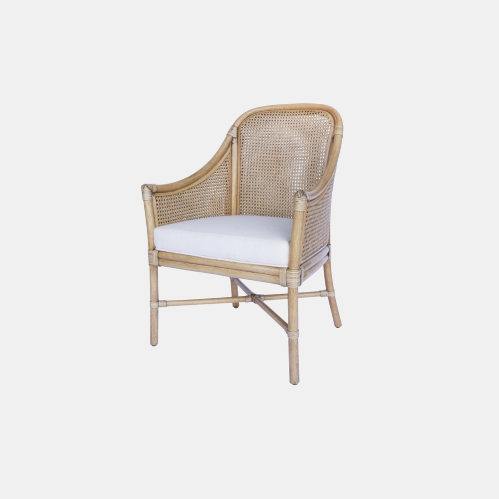 Tivoli Arm Chair  24'' x 24.5'' x 36'' Available in nutmeg (shown) and cinnamon. Also available as lounge chair.