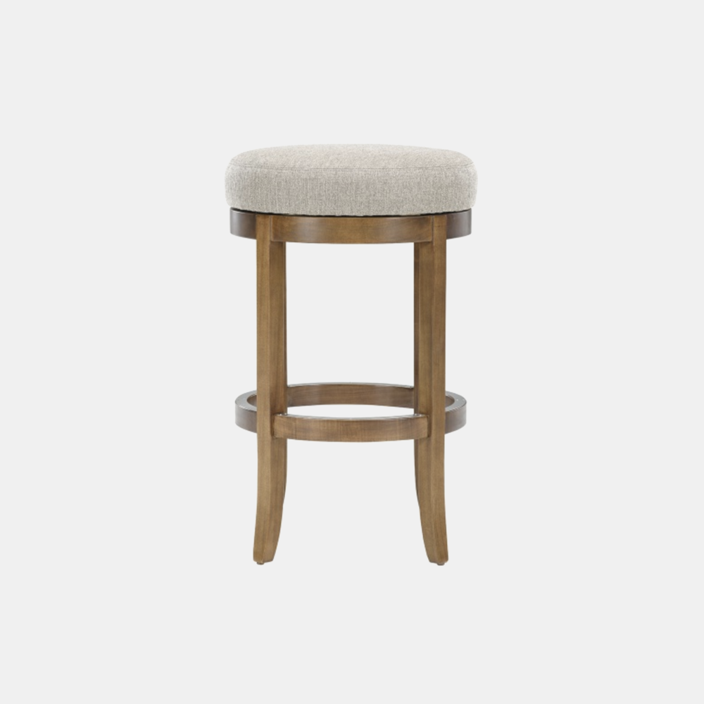 """Georgetown Swivel Bar Stool  19"""" round x 30.5""""h Also available as counter stool."""