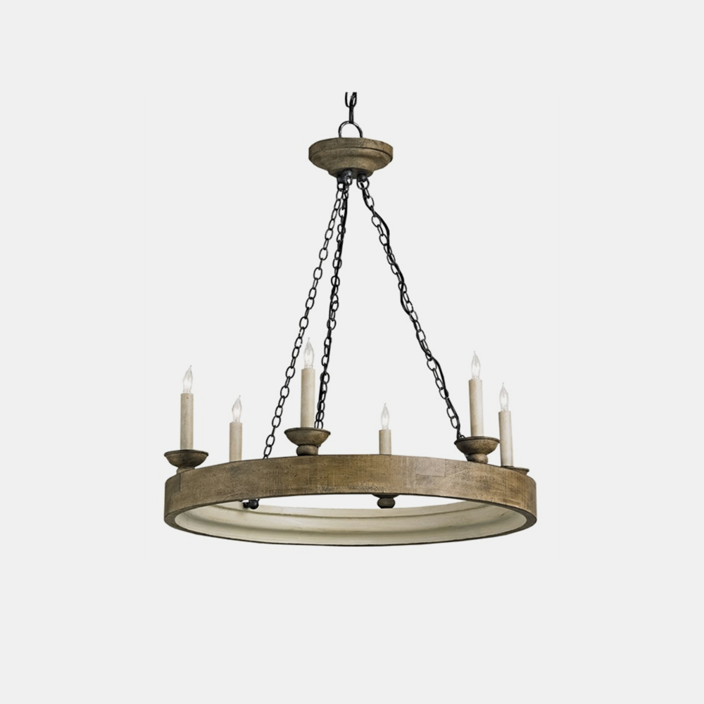 "Beachhouse Chandelier  26"" round x 29""h"