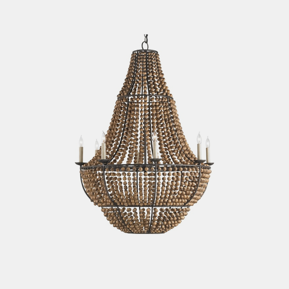 "Falconwood Chandelier  32"" round x 44""h"