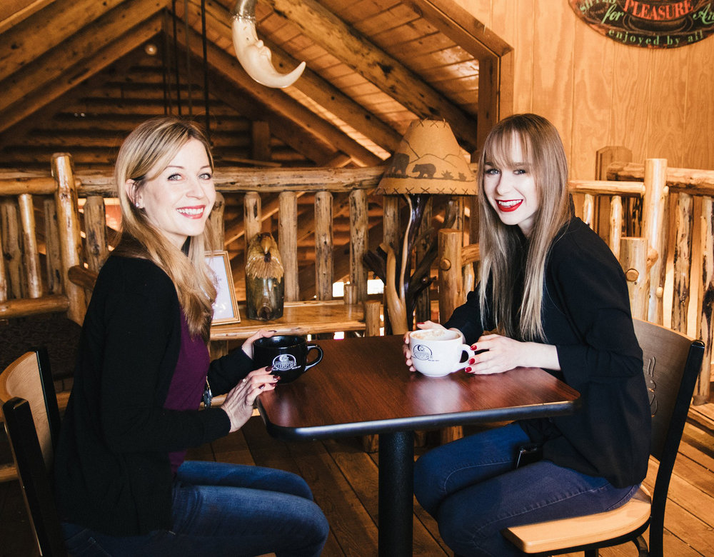 Owners, Laura Pitschmann (left) and Germanie Whitaker (right)