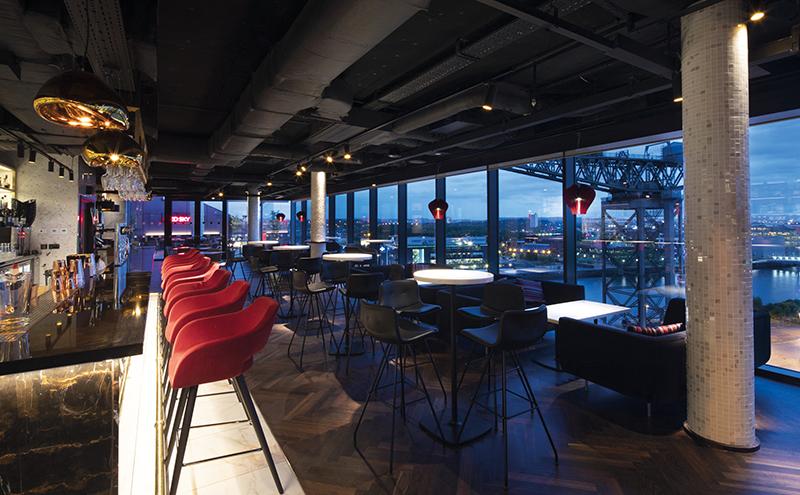 Red Sky Bar Glasgow - Image courtesy of SLTN News