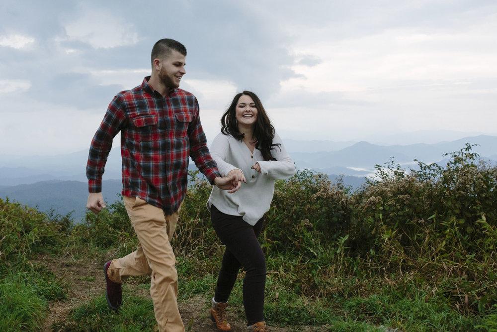 Mountain Engagement Photos | The Beauty Spot Erwin, TN Johnson City, TN Photographer