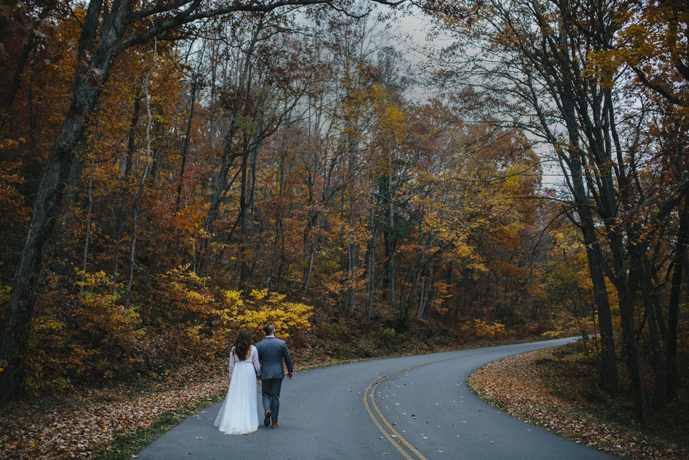 Craggy Gardens Asheville, NC Elopement Wedding photographer