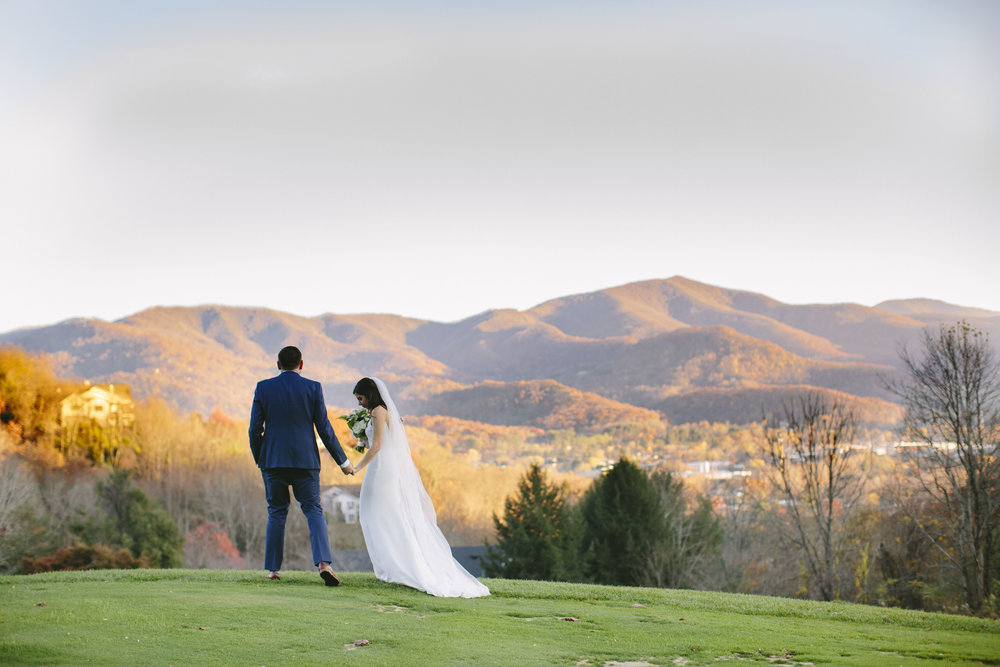 Laurel Ridge Country Club Wedding Waynesville, NC | Asheville, NC Photographer