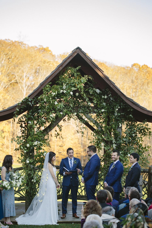 Wedding at Laurel Ridge Country Club Waynesville, NC Asheville, NC Photographer