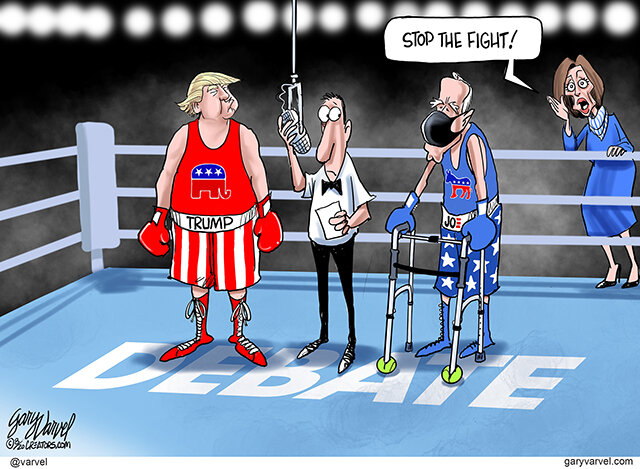 CONVENTION REVIEW By Gary Varvel