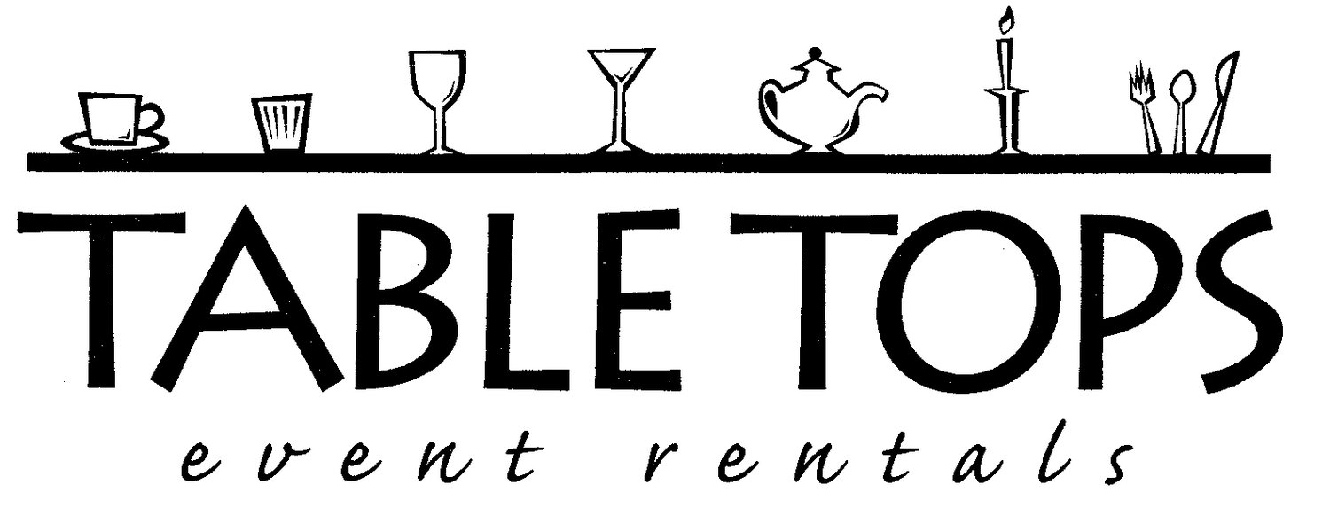 Table Tops Event Rentals : Bend Oregon Wedding and Event Rentals