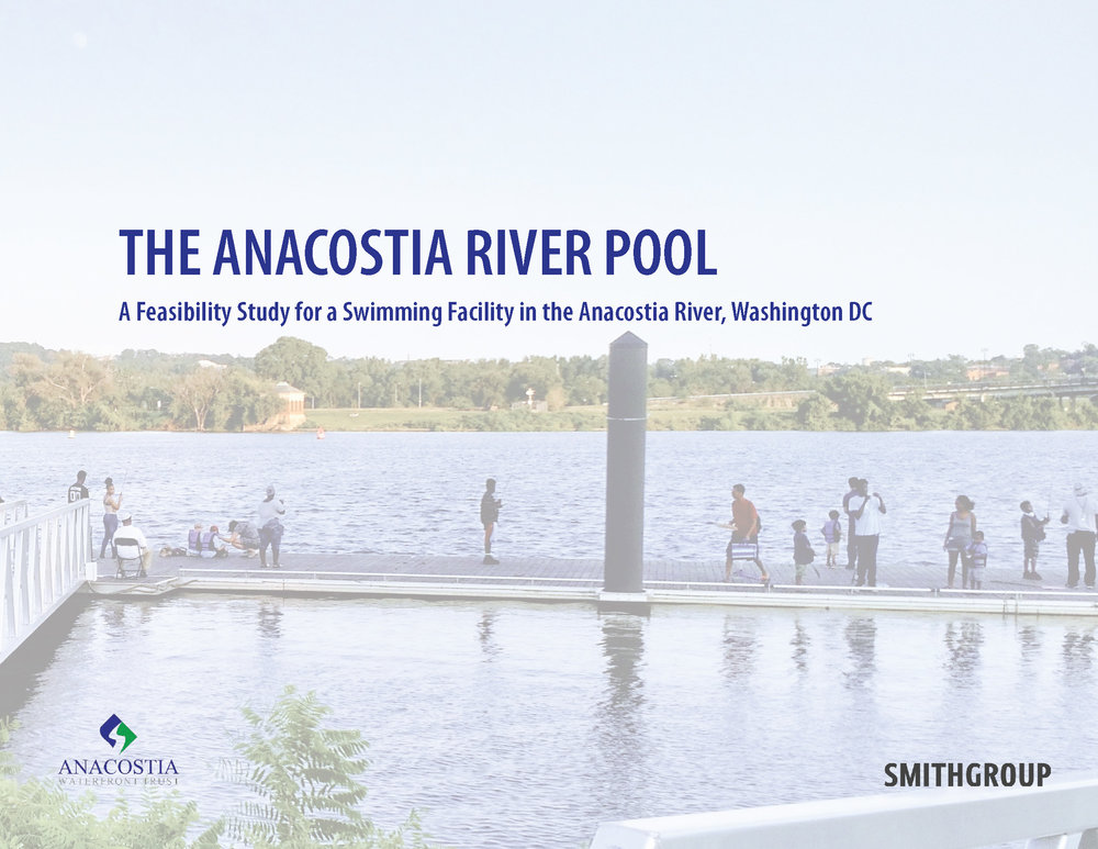 Initial Study Complete: It's Feasible! - Architectural, engineering and planning firm SmithGroup studied the feasibility of creating a permanent swimming facility in the Anacostia River.