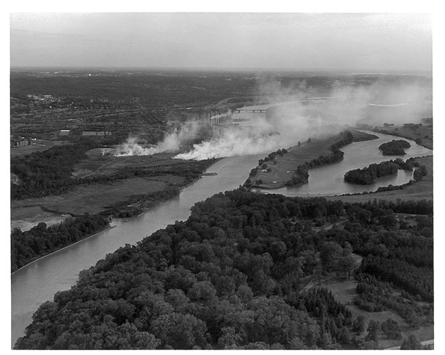 Kenilworth Landfill along the Anacostia River (now Kenilworth Park). Photo: NPS
