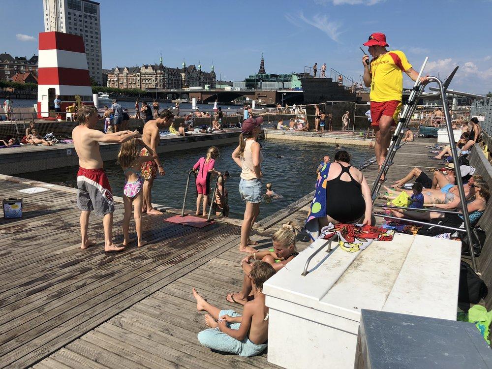 Copenhagen Harbor Baths
