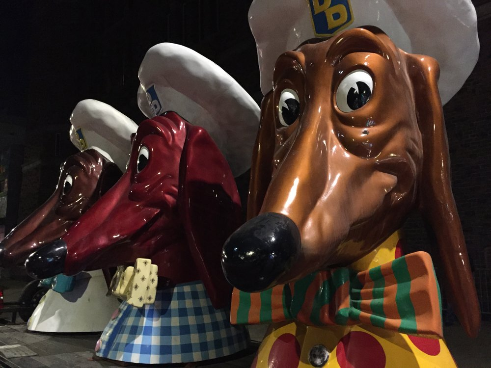 San Francisco's iconic Doggie Diner dogs make a surprise appearance on occasion