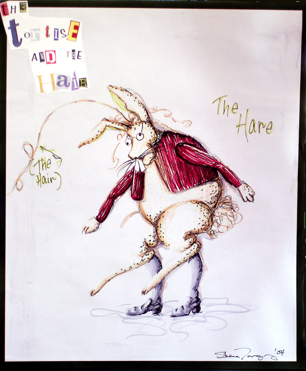 Concept Rendering - The Hare, Stinky Cheese Man