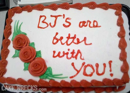 Fabulous Cake Wrecks Top 12 Unintentionally Erotic Cakes Cake Wrecks Birthday Cards Printable Opercafe Filternl