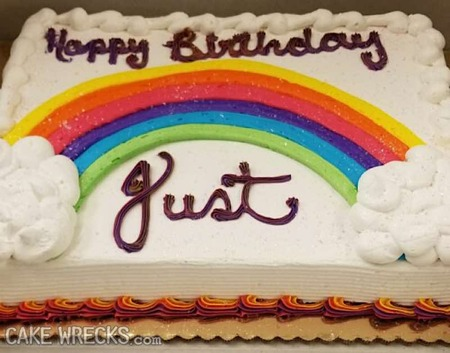 Awesome Literally Just That Cake Wrecks Funny Birthday Cards Online Alyptdamsfinfo